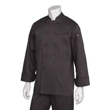Chef Works Bastille Basic Chef Coat - BASTBLK7XL