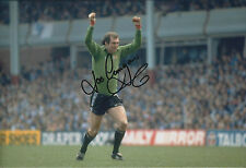 Joe CORRIGAN SIGNED 12x8 Photo AFTAL COA Autograph Man City Goalkeeper AUTHENTIC