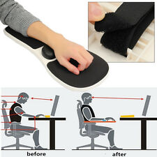Home Office Computer Armrest Mouse Mat Arm Rest Wrist Pad Support For Chair Use