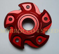 Ducati Monster 796 1100 EVO Kettenblattträger rot sprocket carrier rocchetto