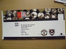 Tickets: 2008 FA Community Shield- MANCHESTER UNITED v PORTSMOUTH~100 Years Cele