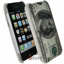 Cover Custodia Per iPhone 3G/3GS 100 Dollari Dollaro + Pellicola Salva Schermo