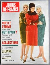 ►JDF 303/1960-COLLECTIONS D'HIVER-CURD JURGENS-MARIA CALLAS-ONASSIS-EDDIE FISHER