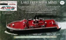 City of Milwaukee Great Lakes Train Ferry Boat Paper Model Atlantis Toy & Hobby