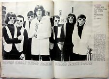 ANTOINE / LES CHARLOTS  =  coupure de presse 2 pages 1966  // FRENCH CLIPPING
