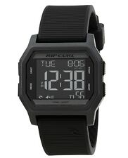 Rip Curl Atom Digital A2701-BLK Black Silicone Digital Quartz Men's Watch