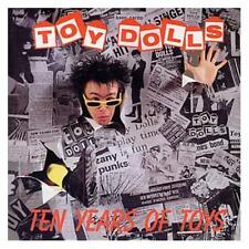 Toy Dolls Ten Years Of Toys CD NEW SEALED Punk Tommy Kowey's Car+