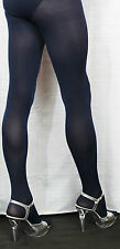 Stunning Navy Blue 80 Denier Opaque Velvet Feel High Quality Tights One Size