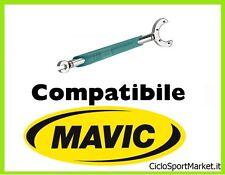 Chiave TIRA RAGGI PIATTI / MOZZI compatibile ruote MAVIC ciclismo bicicletta