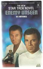 Star Trek Enemy Unseen V E Mitchell Titan 1990 2nd Printing UK Paperback Good