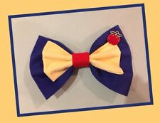 ♥HANDMADE SNOW WHITE COTTON FABRIC HAIR BOW COSPLAY KAWAII CUTE LOLITA