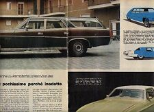 W22 Ritaglio Clipping 1973 Ford Mustang Cadillac Fleetwood