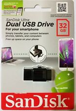 SanDisk OTG Ultra Dual USB SDDD-032G-G46 32GB for Android smartphone tablet