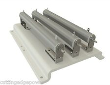 12 Volt 675 Watt dump load resistor package with mount plate