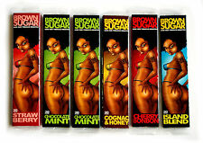 6 Rolling Paper Cigarette brown Sugar mixed Flavors-1,25mm