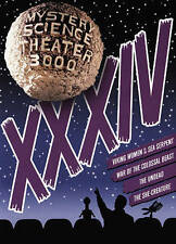 Mystery Science Theater 3000: XXXIV (DVD, 2015, 4-Disc Set)