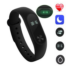 Xiaomi Mi Band 2 Wrist Bluetooth Bracelet Smart Watch Heart Rate OLED Touchpad