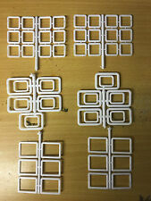 Model Boat Fittings Set of 56 Assorted Windows CMBP088