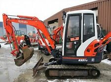 Kubota KX 91-3 Excavator / Digger  - Parts Manual.