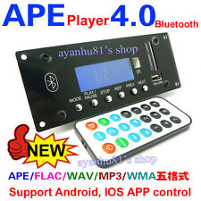 Digital Bluetooth 4.0 Audio Receiver APE FLAC WAV WMA MP3 Decoder phone Control