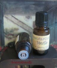 VANILLA ESSENTIAL OIL 1/2 OZ 100% Pure RELAXING STRESS FLAVORING BATH COSMETICS