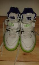Mens Hi Top Trainers - Nike Auto Force 180 - White & Electric Green - Size 7 UK