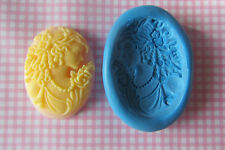 VICTORIAN CAMEO silicone mould sugar craft cake decorating fimo cernit cake pop