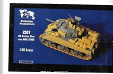 Verlinden WWII US Marines Sherman M4A2 Soft Armor, Stowage Upgrades 1/35 2557 ST
