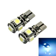 Caliente 10 X Can-Bus Error Libre Blanco T10 5-SMD 5050 W5W 194 16 Interior