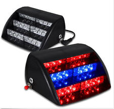 18LED Car Light Flash Warning Strobe Dash Emergency Lamp 3 Flashing Modes 12V
