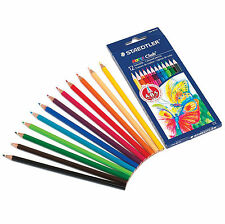 STAEDTLER Noris Club 144 Coloured Pencil Art Artist Colouring Sketch Drawing 12X