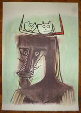 Wilfredo Lam Lithographie signée numérotée 1982 cuba surréaliste art abstrait