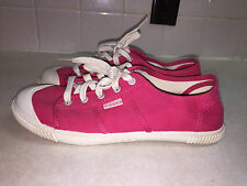 KEEN Maderas Canvas Sneakers/Shoes Bright Pink/Fuschia Women's Size 8.5M