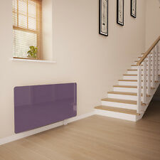 Lilac Glass Radiator Cover for The Hall - Large