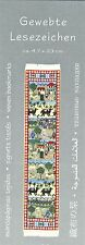 Bildtteppich Kamele Oase Orientteppich Gewebtes Lesezeichen Puppenhaus Mini1:12