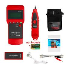 LCD Display Network LAN Cable Tester Wire Tracker Tracer Length Scanner RJ45
