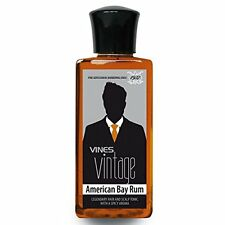Vines Vintage American Bay Rum Hair Tonic 200ml