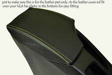 YELLOW STITCHING FITS SEAT TOLEDO 2004-2008 LEATHER ARMREST SKIN COVER ONLY