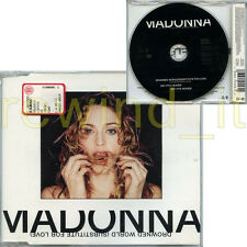 "MADONNA ""DROWNED WORLD"" RARE CDS 3 TRACKS - MINT"