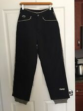 Deep snowboard Apparel pants. Women`s Size Small Black RCP