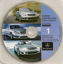 2001 2002 2003 S600 S500 S430 S55 CL600 CL500 CL55 Navigation CD #1 Cover CA NV