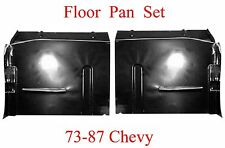 73 87 Floor Pan Set W Backing Plate Fits Chevy GMC Truck, Suburban Blazer Jimmy
