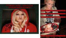 *SEX!!!* KAYLYN KYLE signed 8X10 Photo EXACT PROOF - TEAM CANADA World Cup COA