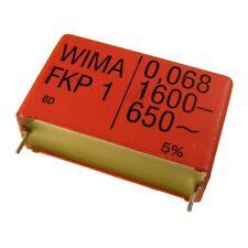 WIMA FKP1 Polypropylen Folien-Kondensator FKP 1 1600V 0,068uF 5% 37,5mm 024086