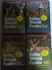 Building Whitetail Paradise Volumes 1, 2 3, and 4A, DVD, 2004-5-6, New 4 discs