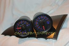 BA BF FORD XR6 XR8 TURBO SAAS GAUGE POD  WITH DRIFT BOOST VOLT WATER  OIL GAUGE