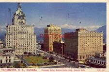 1953 VANCOUVER, B.C. CANADA VANCOUVER AND GEORGIA HOTELS