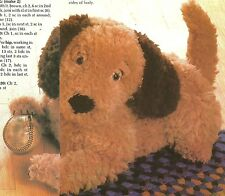 *Puppy Dog Toy & Tissue Cover crochet PATTERN INSTRUCTIONS