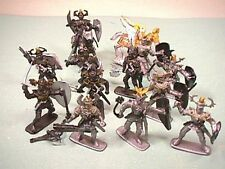 Plastic Fantasy Medieval Plastic Warriors Set No. 29