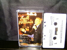 ANDY WILLIAMS – THE VERY BEST OF ANDY WILLIAMS - RARE CASSETTE TAPE NM
